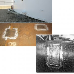 floor patch plates and pipe